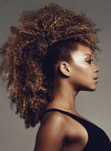 Penteados para cabelos crespos e cacheados