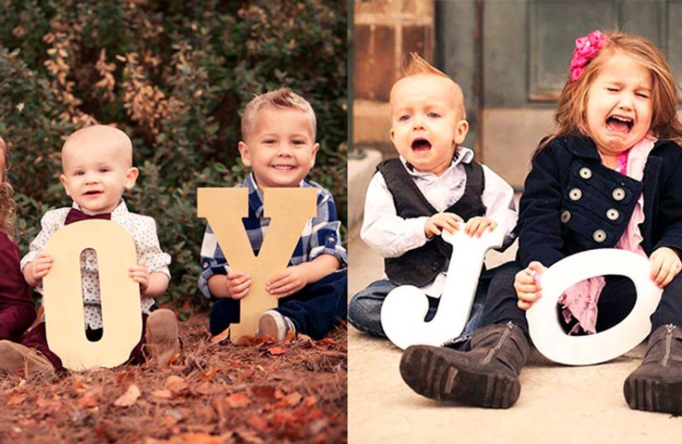 Expectativa frente a realidad: hacer fotos a niños no es tan fácil como nos lo venden