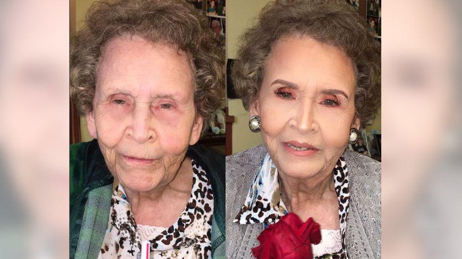 Das kann sich sehen lassen: Diese Enkelin verpasst ihrer 97-jährigen Uroma ein Umstyling