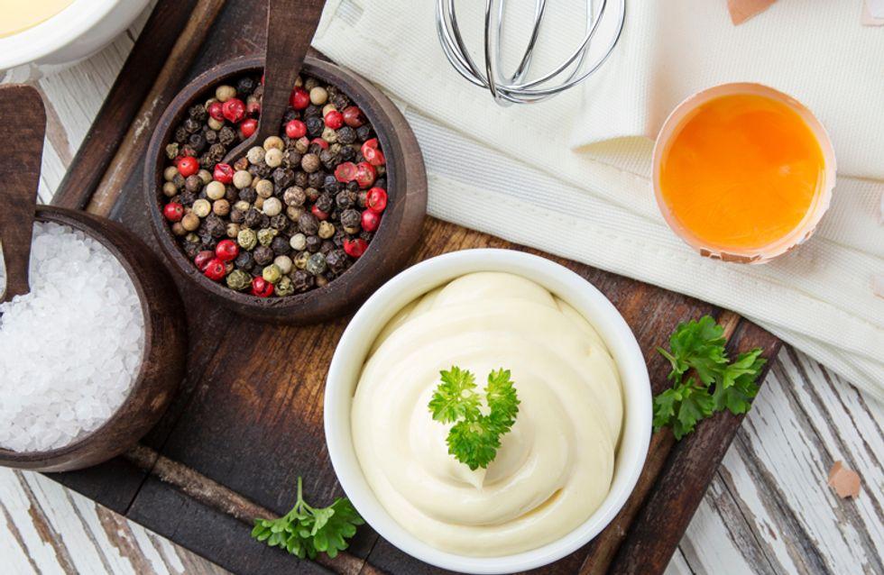 La mayonesa y más salsas caseras que no pueden faltar en tu mesa