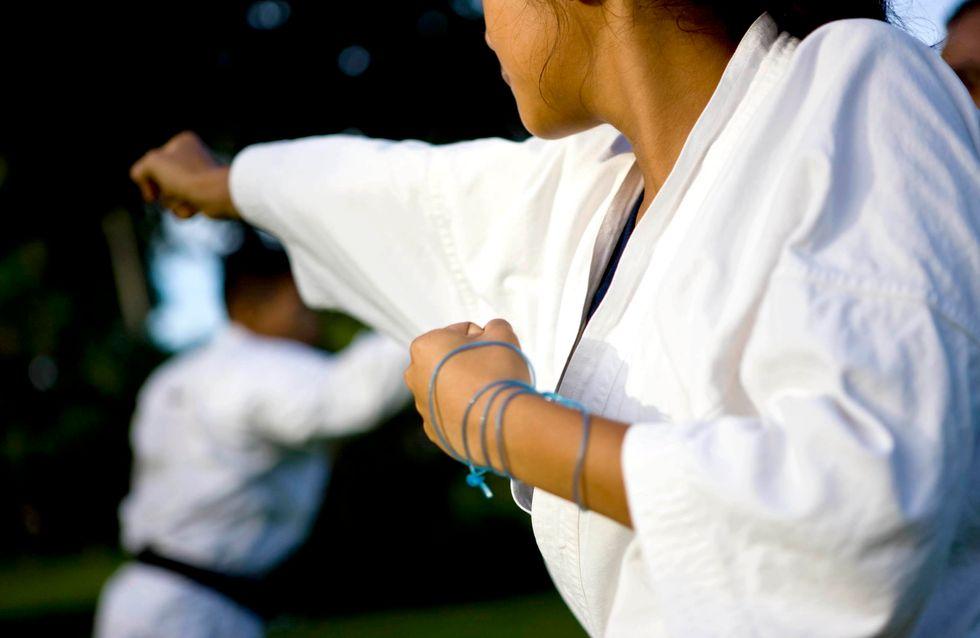 Elle donne une bonne leçon à son agresseur grâce au judo