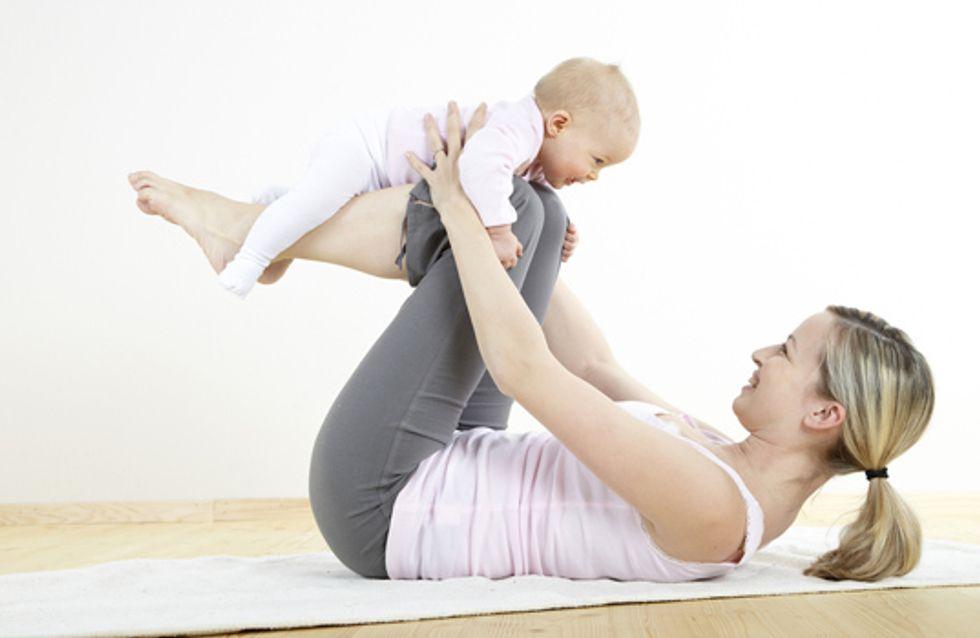 Les exercices maman-et-moi inspirés des réseaux sociaux