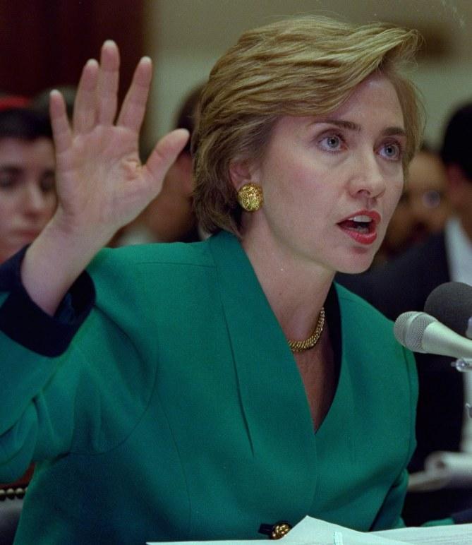 Hillary Clinton en 1999