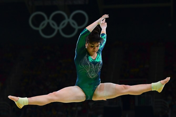 Alexa Moreno aux JO de Rio