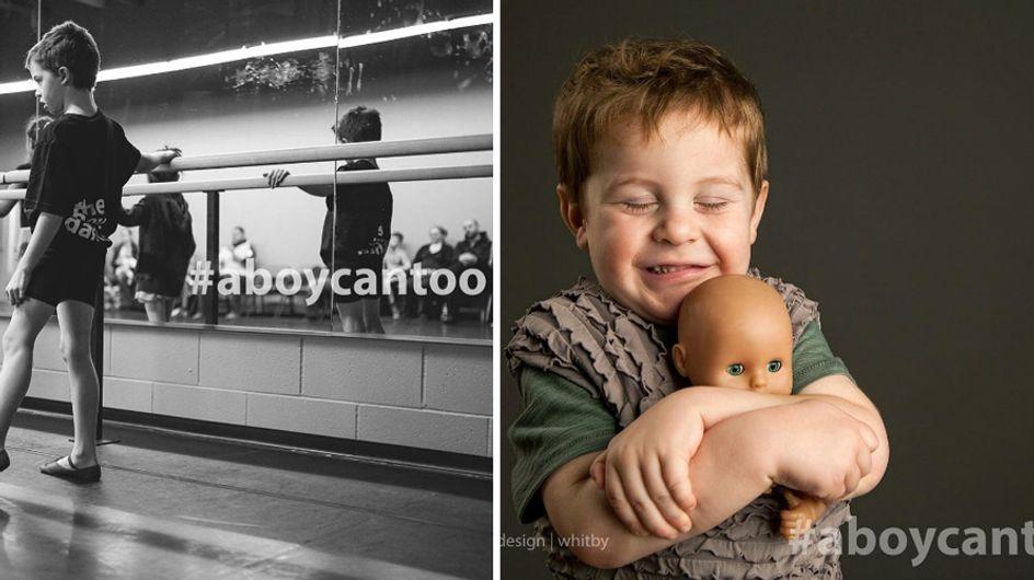 Puppen, Kleider & Ballett: Diese Fotografin beweist, dass Jungs dasselbe können wie Mädchen