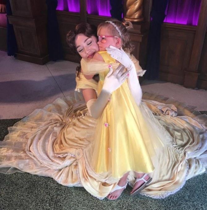 Cailee avait pour rêve de rencontrer Belle