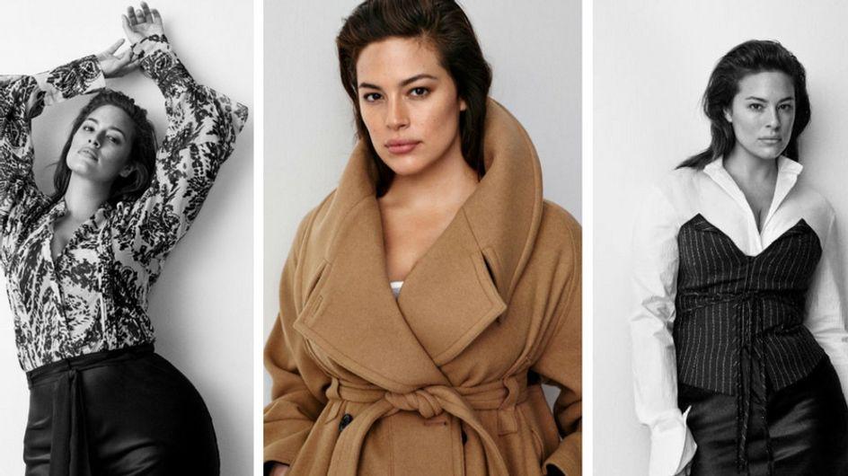 Ashley Graham, intègre une campagne non-plus size H&M