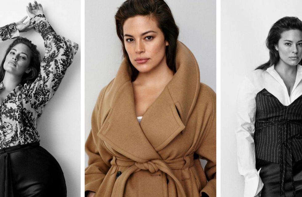 Ashley Graham, intègre une campagne non-plus size H&M