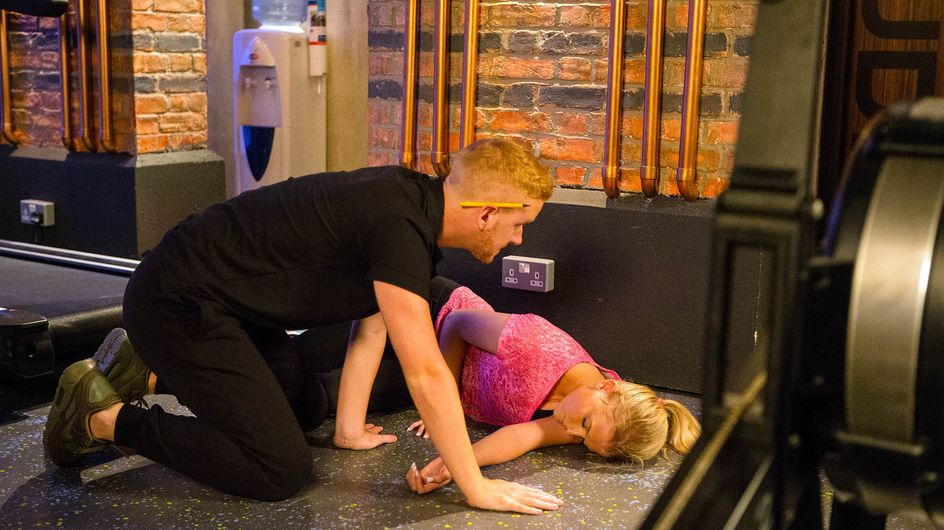 Coronation Street 24/8 - Bethany Pushes Herself To the Extreme