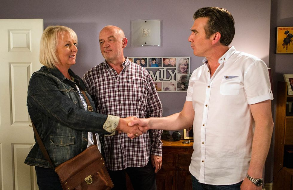 Coronation Street 26/8 - Nick Lets The Cat Out Of The Bag
