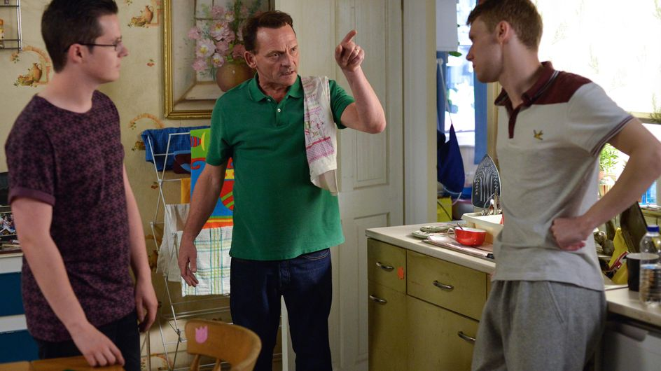 Eastenders 22/8 - Billy Confronts Jay About His Behaviour