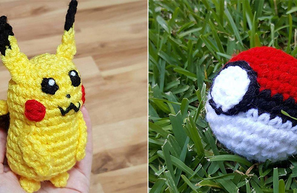 """No Texas, norte-americana confecciona Pokémons de crochê e """"esconde"""" em PokéStops"""
