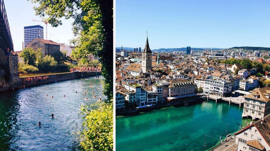 Ab ans Wasser! 7 ultimative Zürich-Tipps für ein perfektes Wochenende