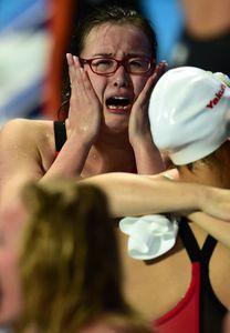 Fu Yuanhui aux championnats du monde 2015