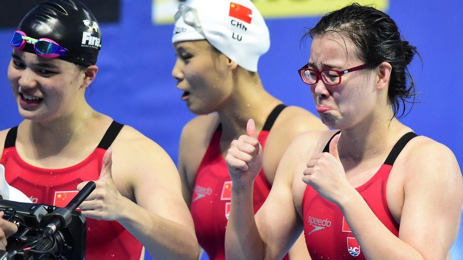 Fu Yuanhui, la nageuse qui brise le tabou des règles et que la Toile adule
