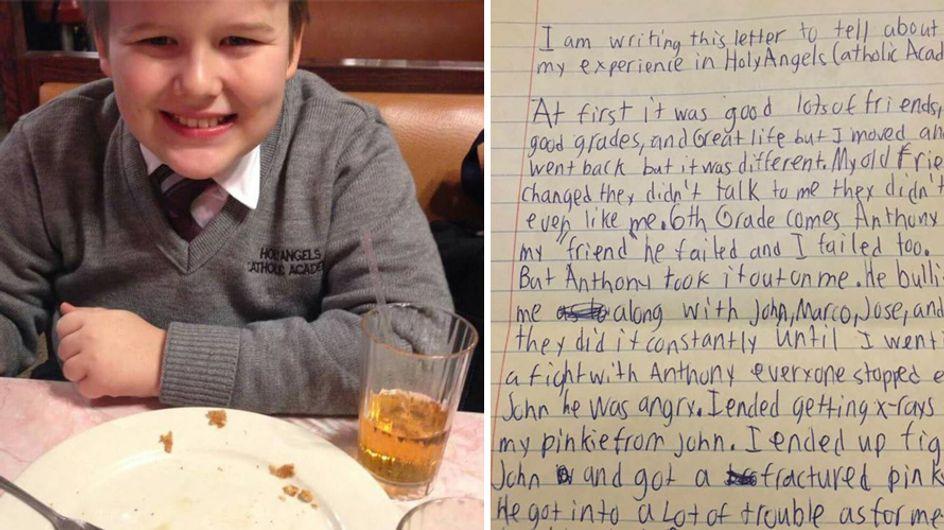 Er war nur 13 Jahre alt, als er sich wegen Mobbing das Leben nahm - sein Abschiedsbrief rüttelt auf