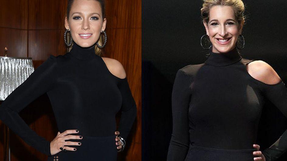 Enceinte, elle reproduit les looks de grossesse de Blake Lively (Vidéo et photos)