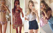 Unglaubliche Verwandlung: Diese junge Frau wog nur 22 Kilogramm, heute liebt sie
