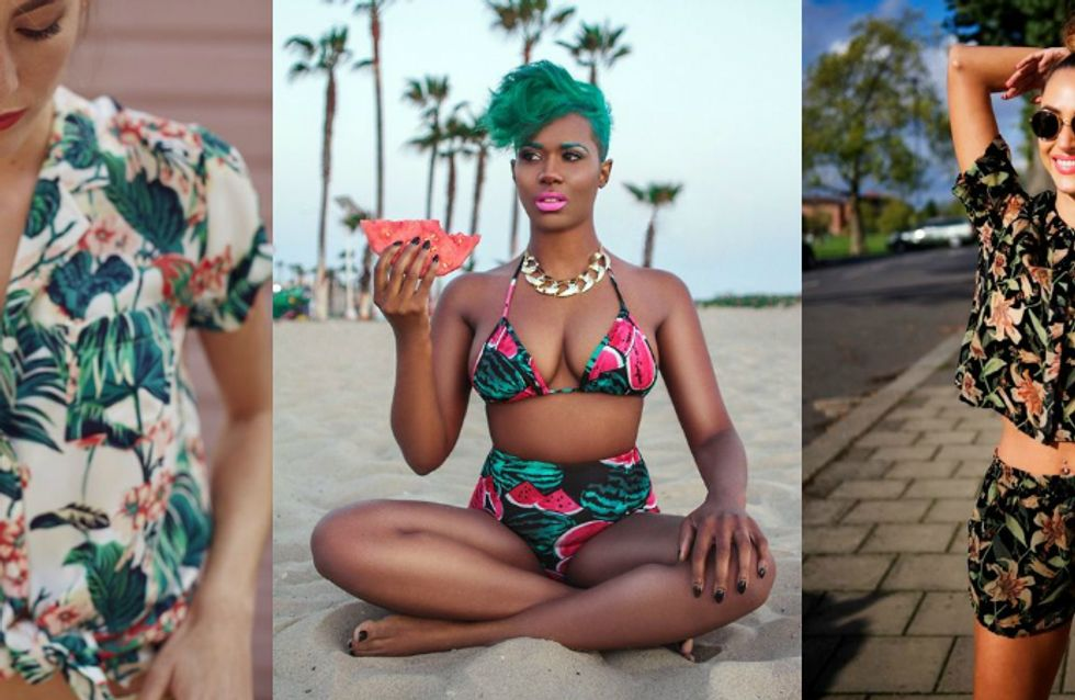Summer Fashion Trends: estampa tropical