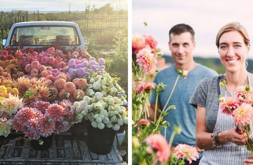 Der schönste Job der Welt: Warum diese Floristin momentan im Internet der Hit ist