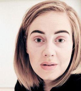 Même malade, Adèle n'arrête pas les selfies sans maquillage (photos et video)