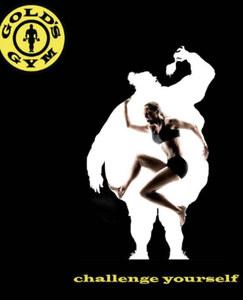 L'une des affiches de la campagne publicitaire de Gold's Gym