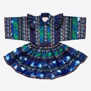 La robe Kenzo x H&M qui nous rend déjà folles