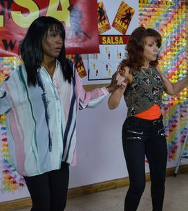 Eastenders 02/9 - Things are off to a bad start for Kim's Salsa show