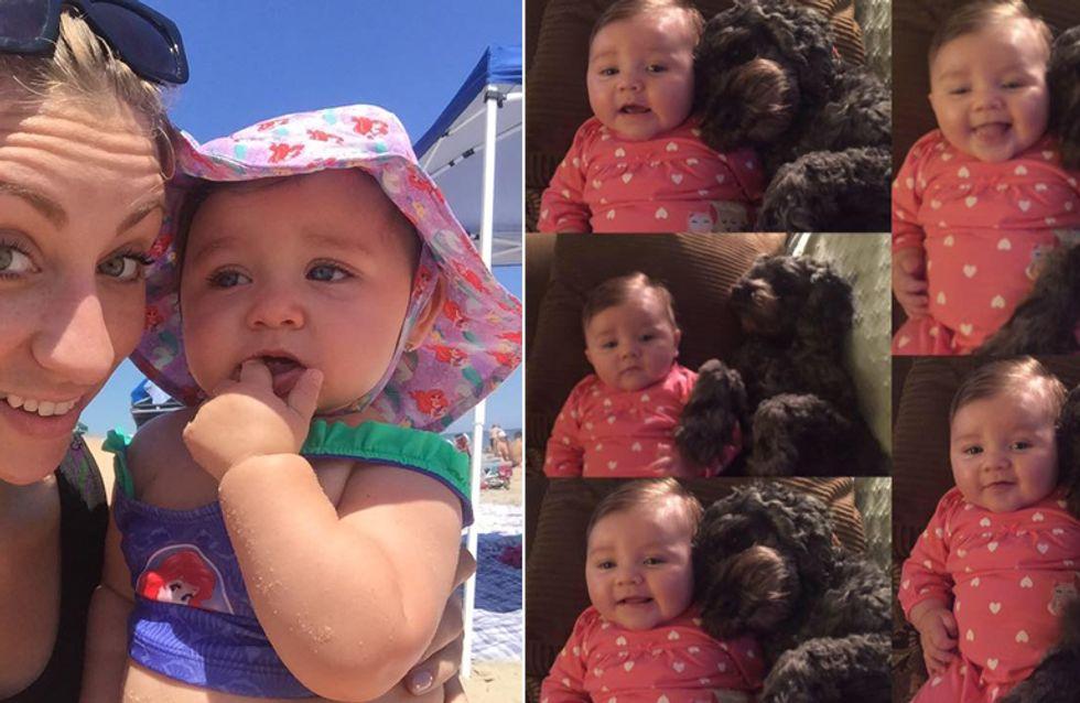 Ein wahrer Held! Dieser treue Hund rettete diesem kleinen Mädchen das Leben