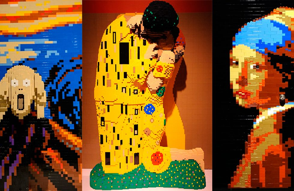 Exposição The Art of the Brick, com peças de Lego, mostra que não aprendemos nada depois de anos treinando