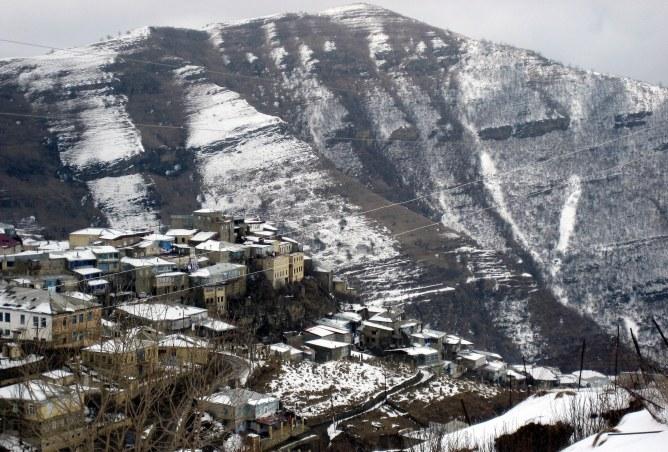 Un village du Daguestan