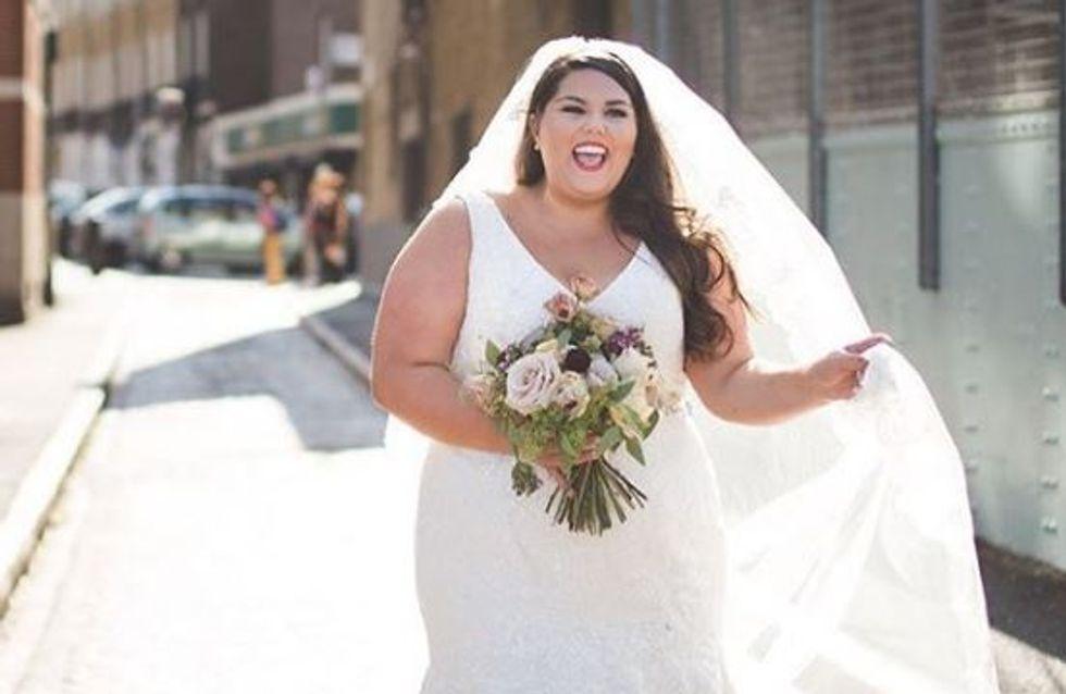 Avant, je pensais qu'il fallait être mince pour se marier : le message percutant d'une blogueuse mode plus size (Photos)