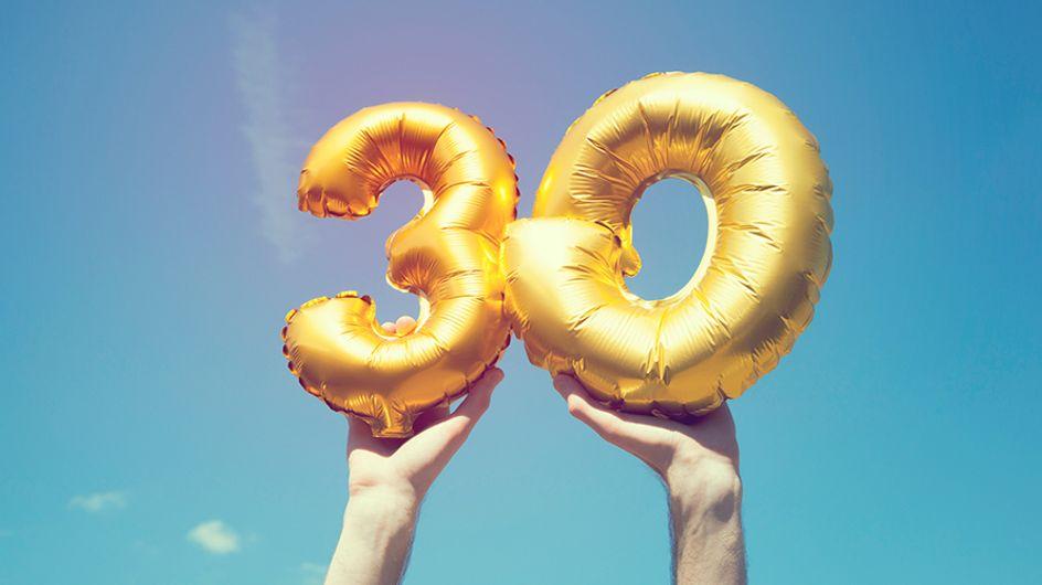 Os 30 anos estão chegando? Veja maneiras divertidas de comemorar