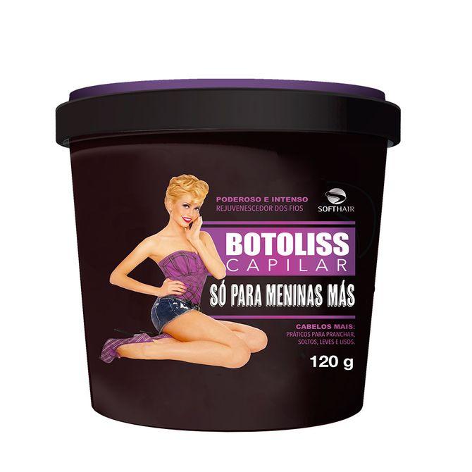 Botoliss Botox Capilar Só para Meninas Más, Soft Hair, R$ 28 (120 g)
