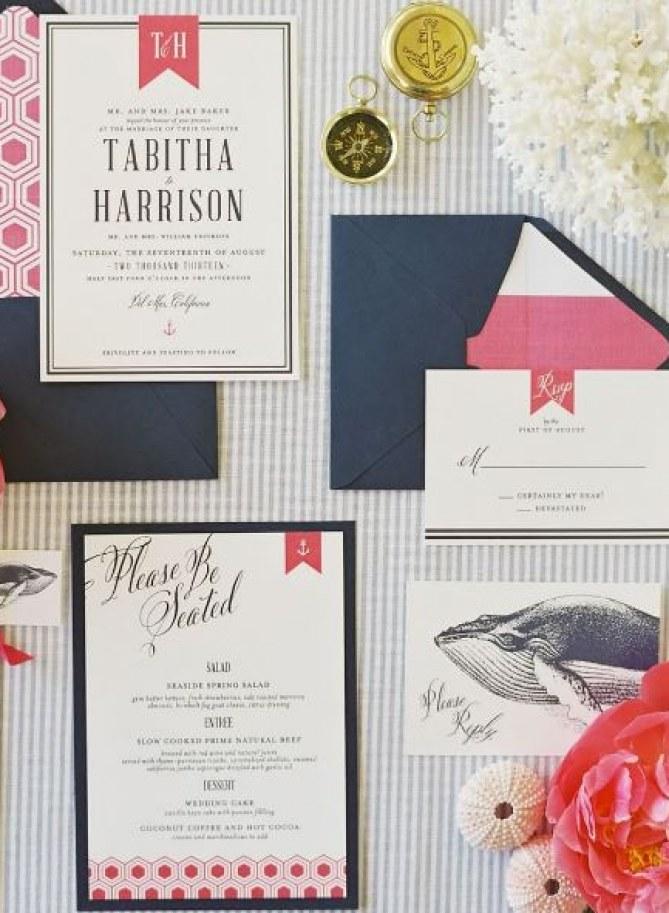 Dankeskarten im Stil der Einladungen