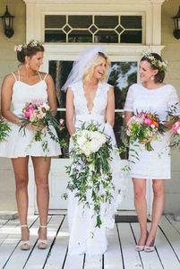 Hochzeitsfeier in weiß