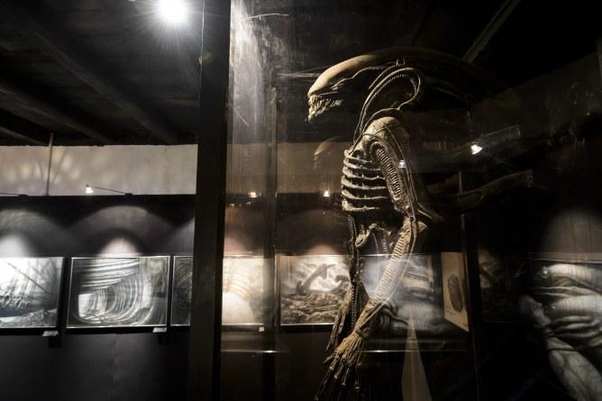 Museo de Alien y HR Giger (Suiza)