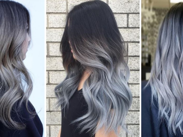 grannyhair 2.0: Graue Ombré Haare sind jetzt Trend!