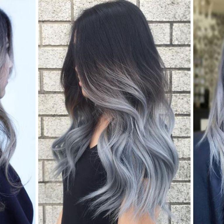 Grannyhair 2 0 Graue Ombre Haare Sind Jetzt Trend