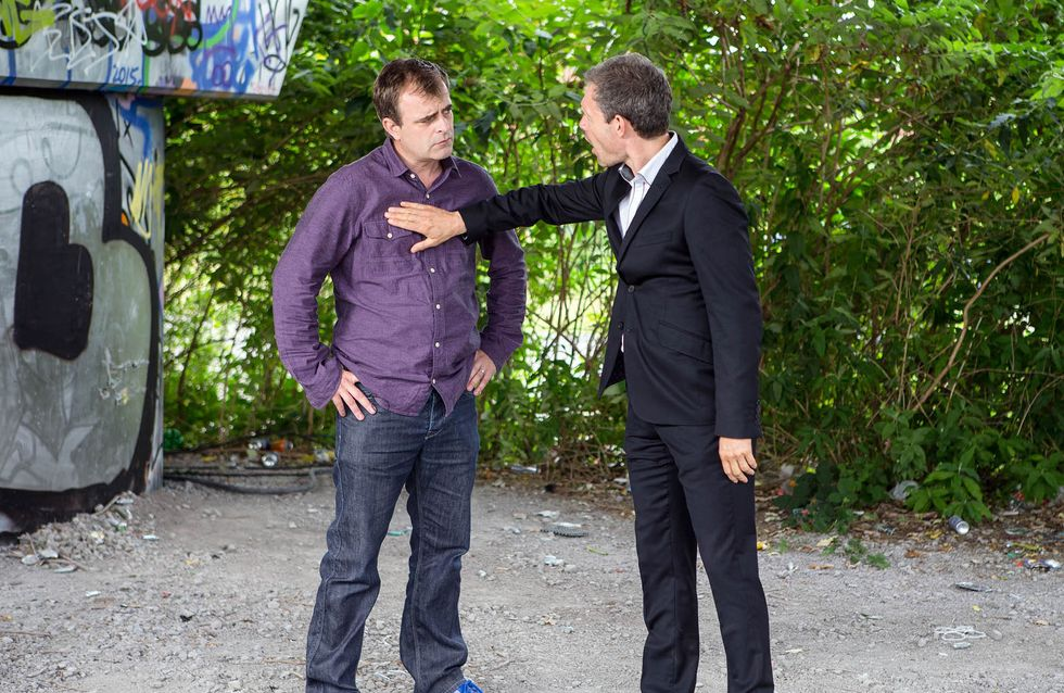 Coronation Street 5/9 - Nick Takes Steve For A Man-To-Man Chat