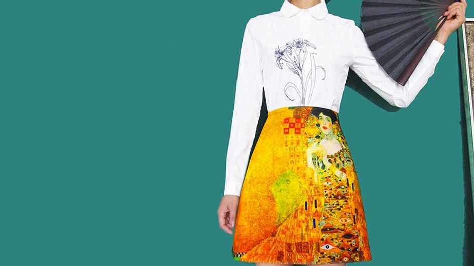 Obras de arte andante: La última tendencia que arrasa en moda