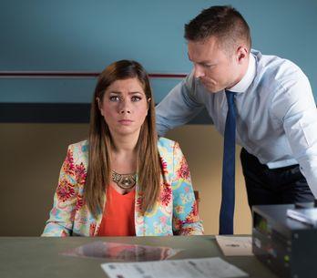 Hollyoaks 05/9 - DC Armstrong Interrogates Maxine