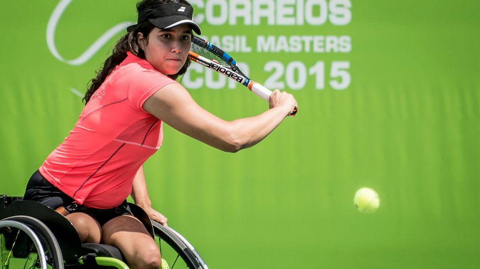 Jogos Paralímpicos: tenista Natália Mayara Azevedo da Costa é pura inspiração