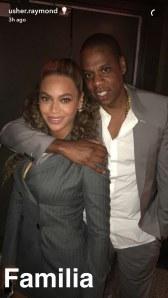 Beyoncé & Jay-Z à la première du film Hands of Stone à New York