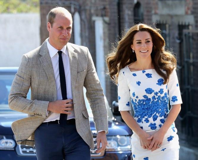 Kate Middleton et le prince William, le 24 août 2016