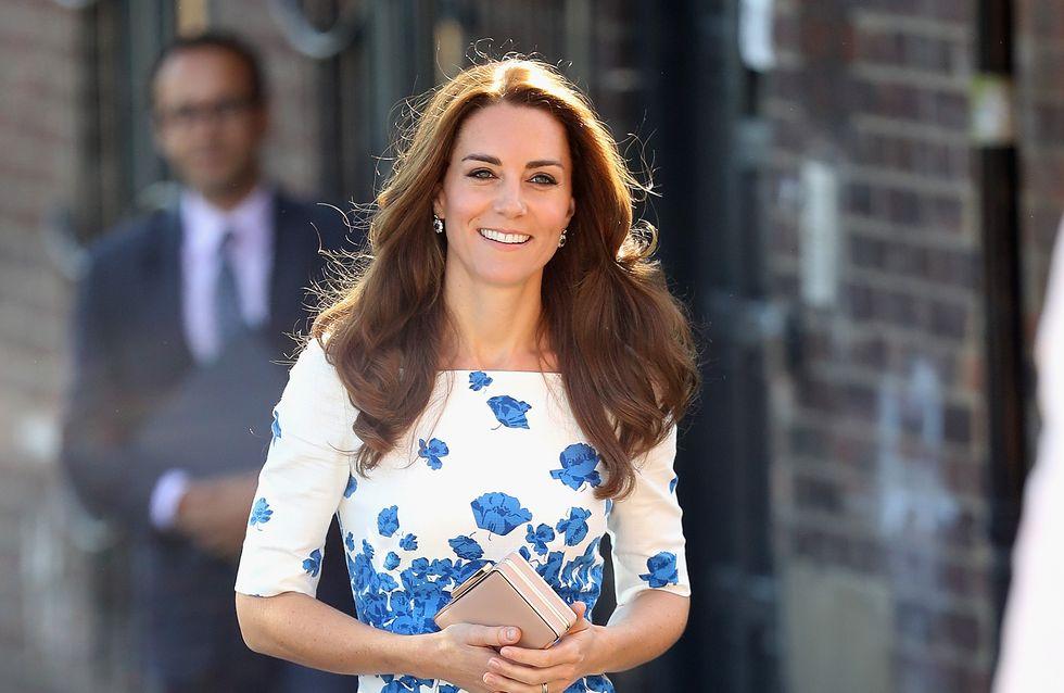 Kate Middleton, bronzée et stylée pour sa rentrée (Photos)