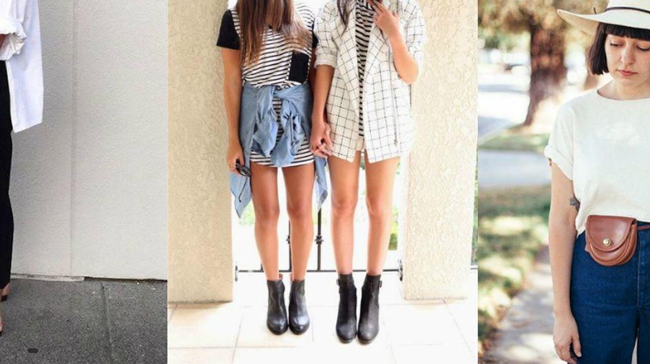 No mood minimalista: looks básicos & essenciais para o dia a dia