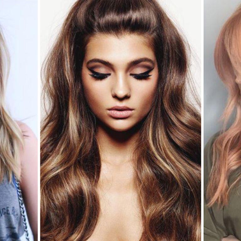 Haarfarben trends winter 2019
