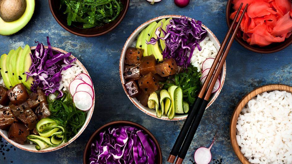 Poke bowl, la fotogénica receta hawaiana que inunda Instagram