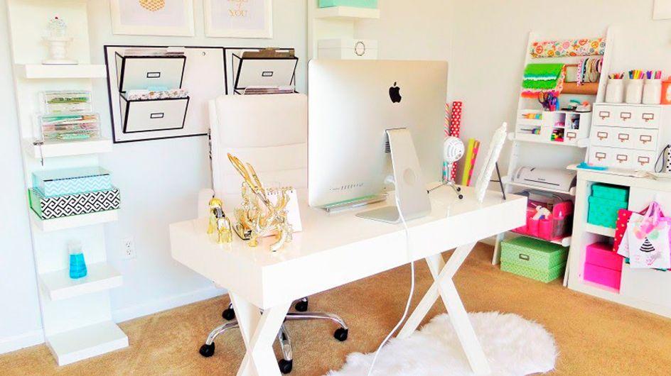 Home sweet office: para trabalhar em casa com conforto e charme